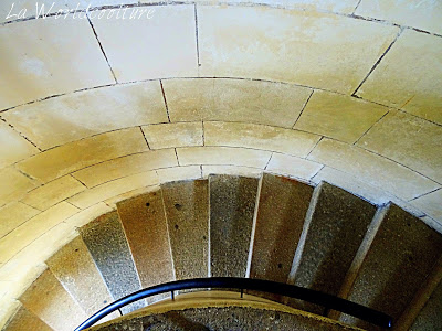 escalier phare de chassiron île d'oléron