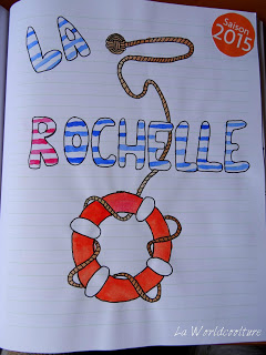 Carnet de voyage La Rochelle