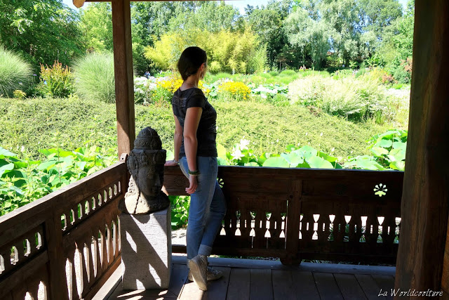 les jardins des martels tarn france temple du lotus