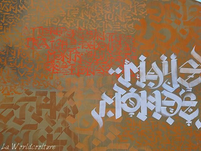 graffiti street art Toulouse Rose Beton naye
