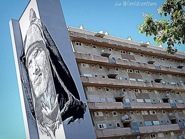 graffiti street art Toulouse Rose Beton ECB