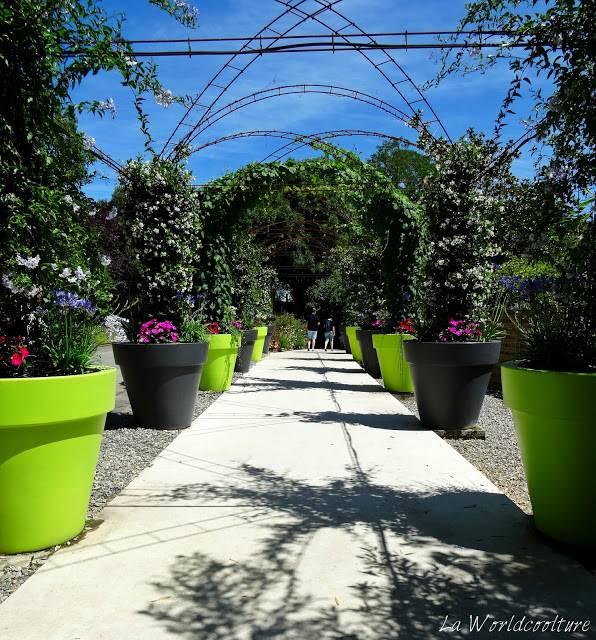 Jardins des Martels Tarn France jeux de pots