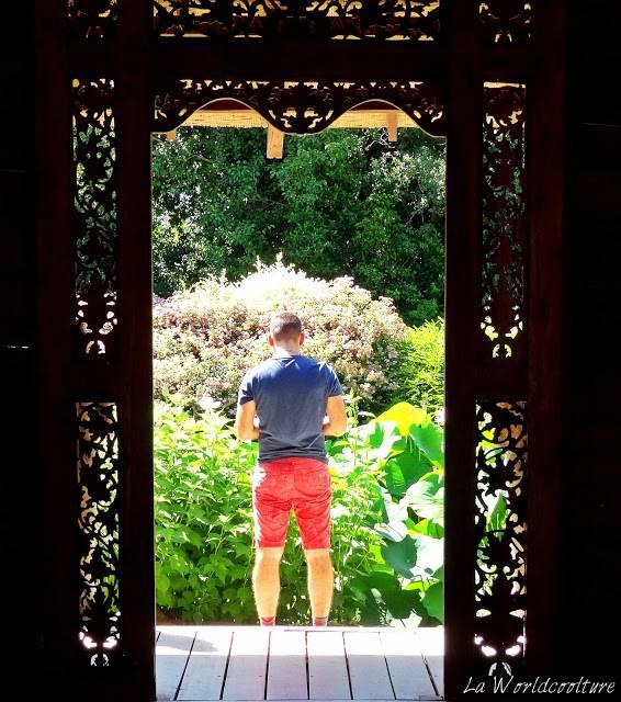 jardins des martels tarn france temple du lotus