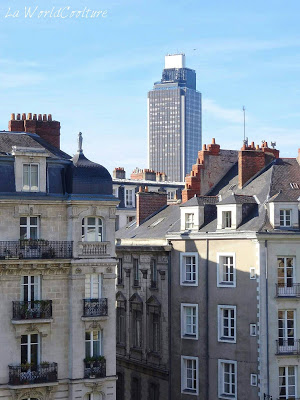 La tour de Bretagne Nantes Loire Atlantique France