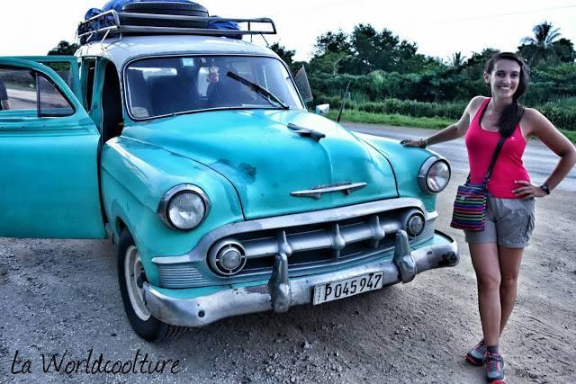 vieille voiture américaine à Cuba