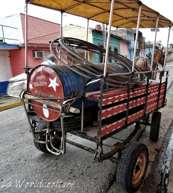 eau potable Trinidad Cuba