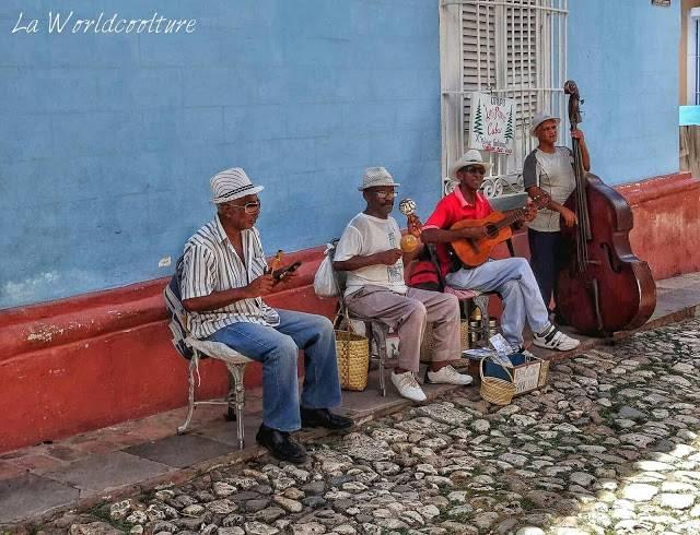 musiciens salsa Trinidad Cuba
