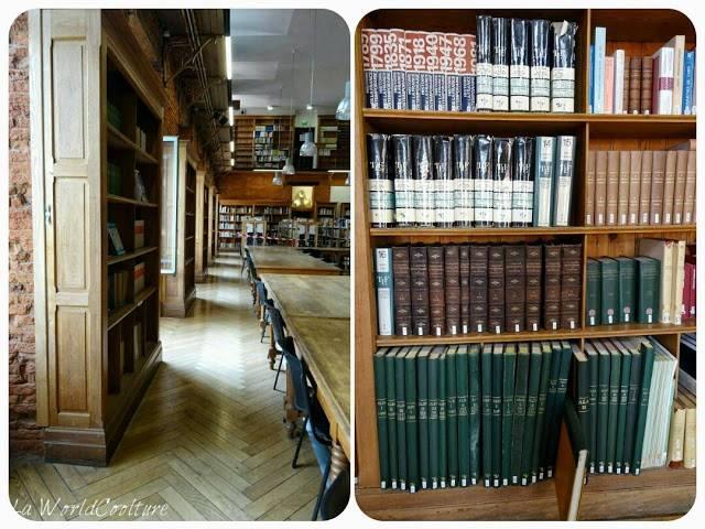 bibliothèque de l'esav Toulouse France