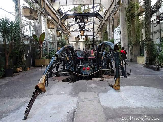 L'île de Nantes machines Loire Atlantique France