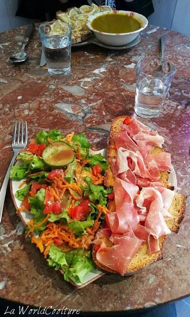 restaurant le temps des tartines Toulouse France