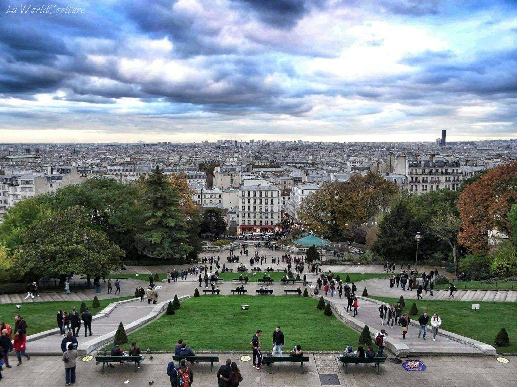 Point de vue Montmartre Paris France