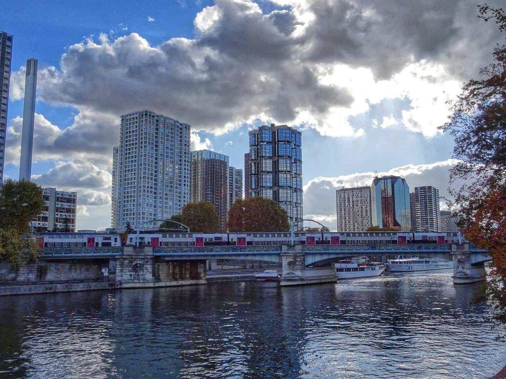 Ile aux cygnes Paris France