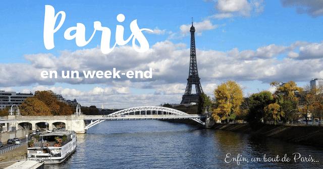 Un week-end à Paris France