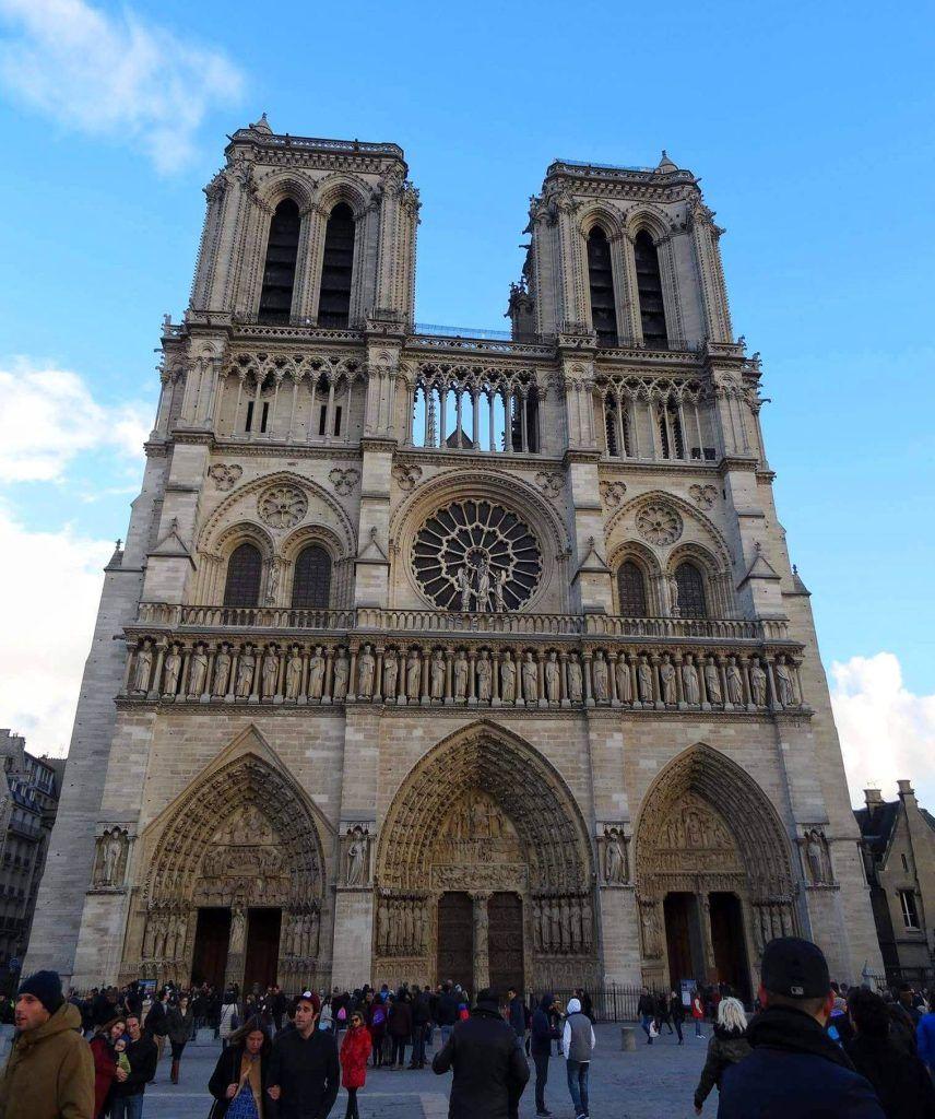 Cathédrale Notre-Dame de Paris France