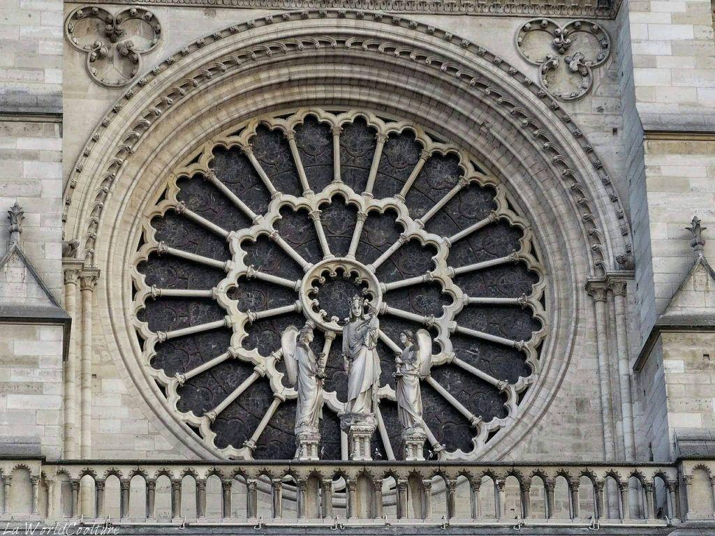 tympan de la cathédrale Notre Dame de Paris