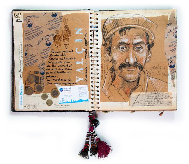 carnet de voyage Istanbul Stéphanie Ledoux