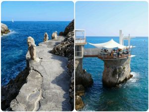 sentier littoral à Nice