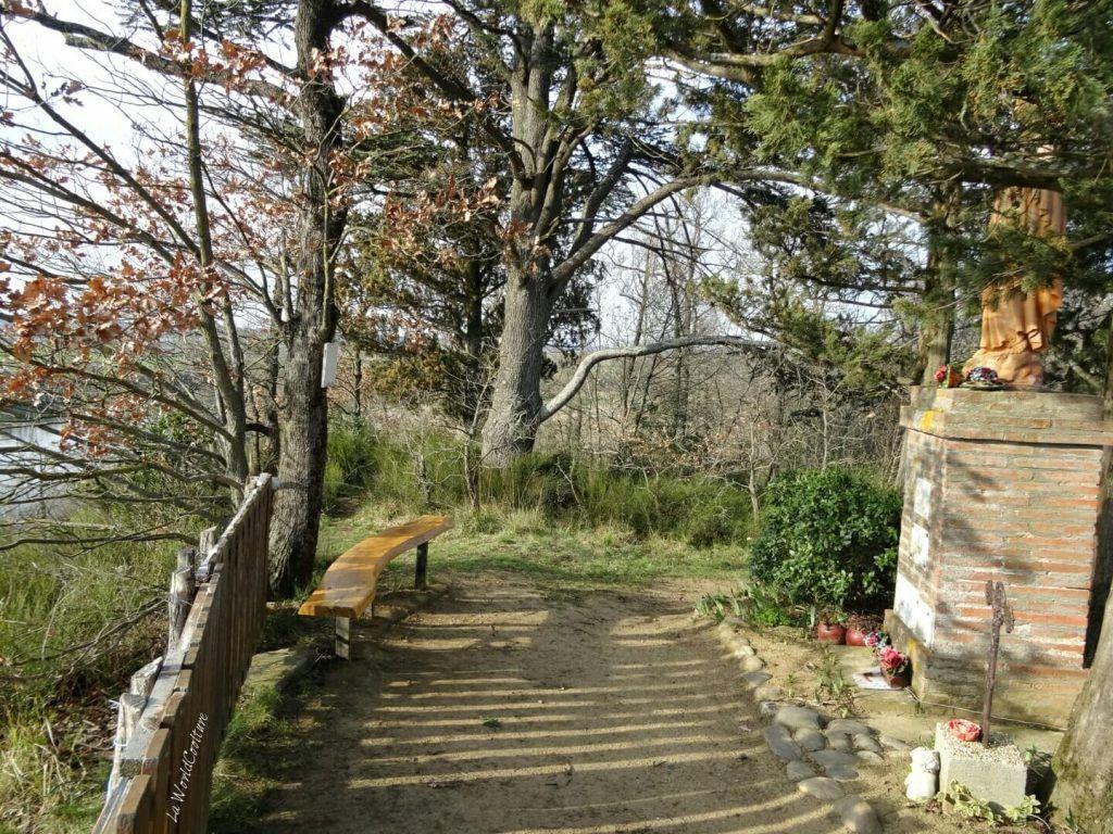 Rieux Volvestre Haute Garonne randonnée chemin des Mules