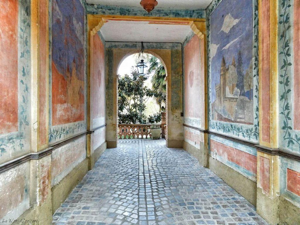 Fresque-entrée-maison-Rieux-Volvestre