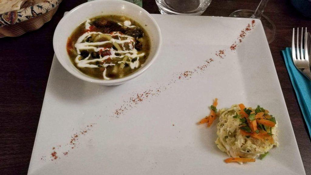 entrée-restaurant-Shalizar-iranien-Toulouse