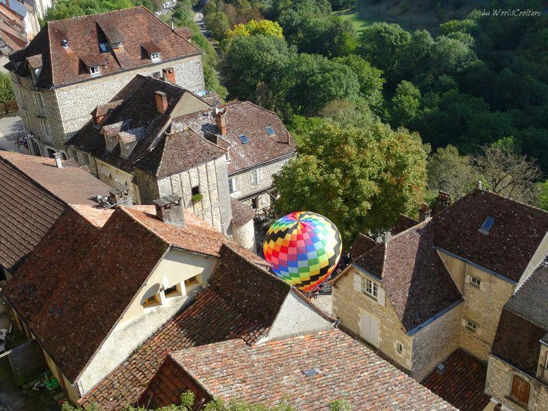 Montgolfiades de Rocamadour tourisme Lot