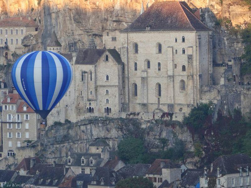 Montgolfiades de Rocamadour pour un week-end dans le Lot