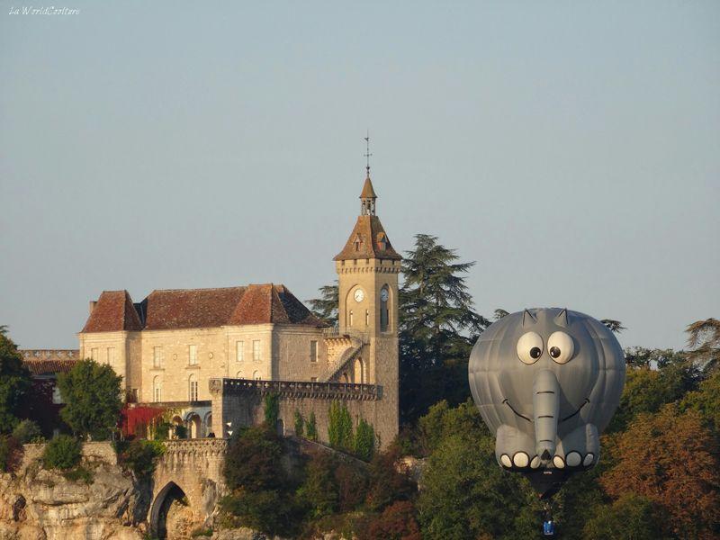 Montgolfiades de Rocamadour festival de montgolfières dans le Lot