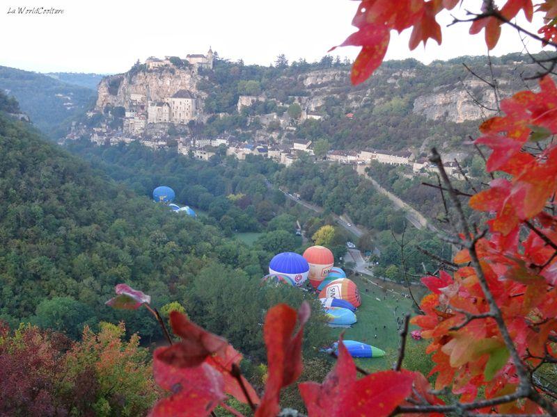fesitval Montgolfiades de Rocamadour Lot