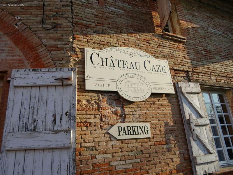 Oenotourisme en Haute Garonne visite du Chateau Caze dans le frontonnais