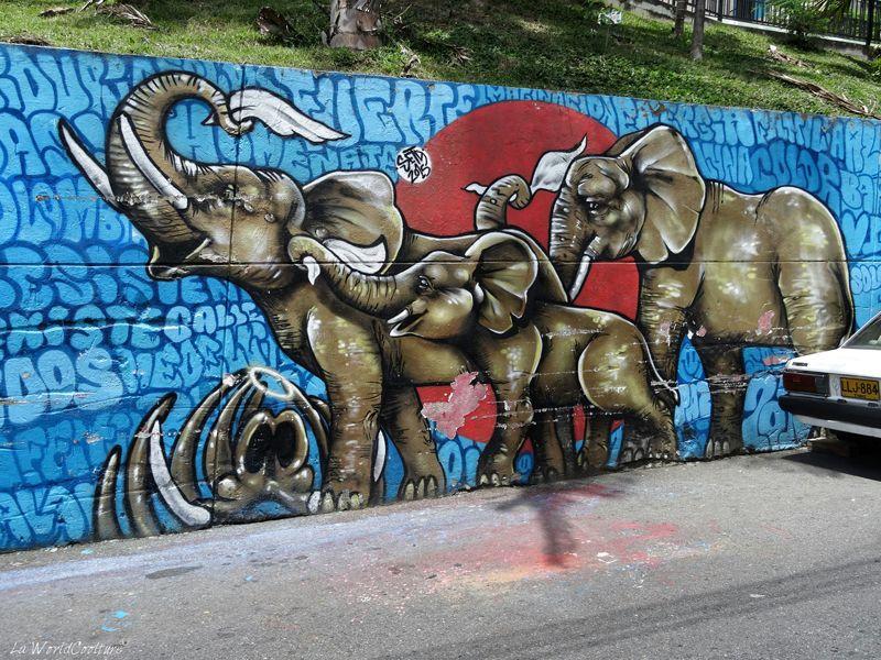 medellin-comuna13-graffiti-memoire-elephant