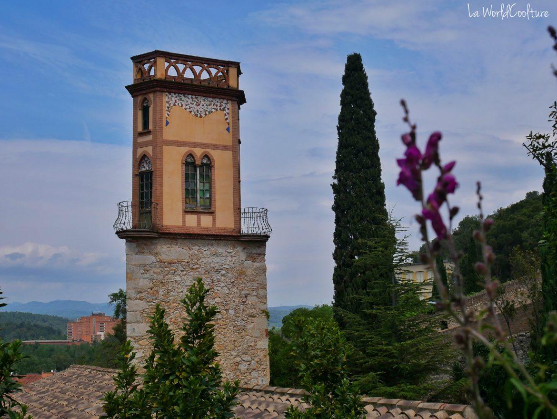 point-vue-panoramique-remparts-Gérone-Catalogne