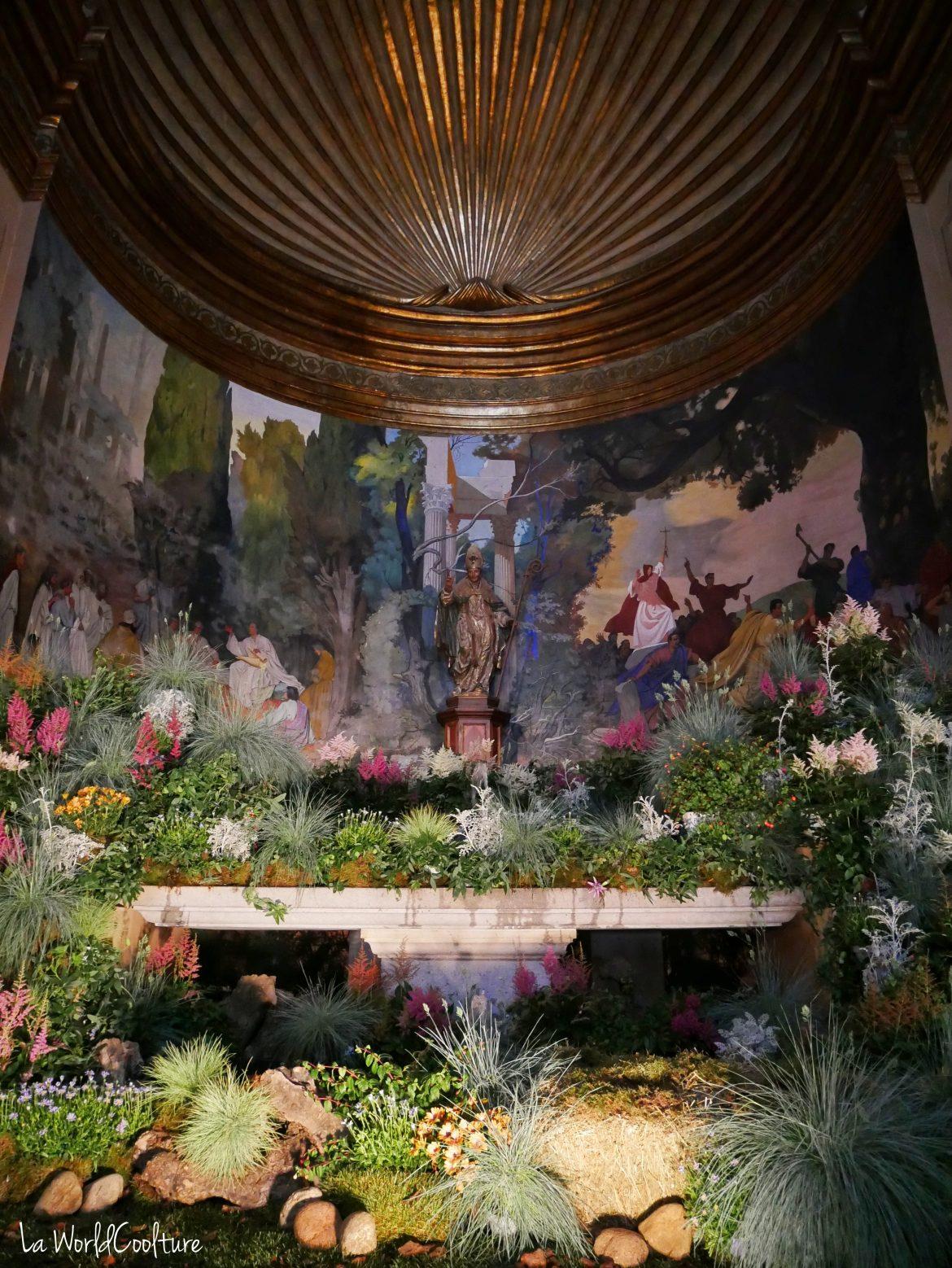 eglise-fermée-public-sauf-durant-Temps-Flors-Gérone-Catalogne