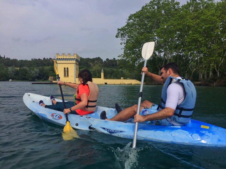 louer-kayak-lac-banyoles-environs-Gérone