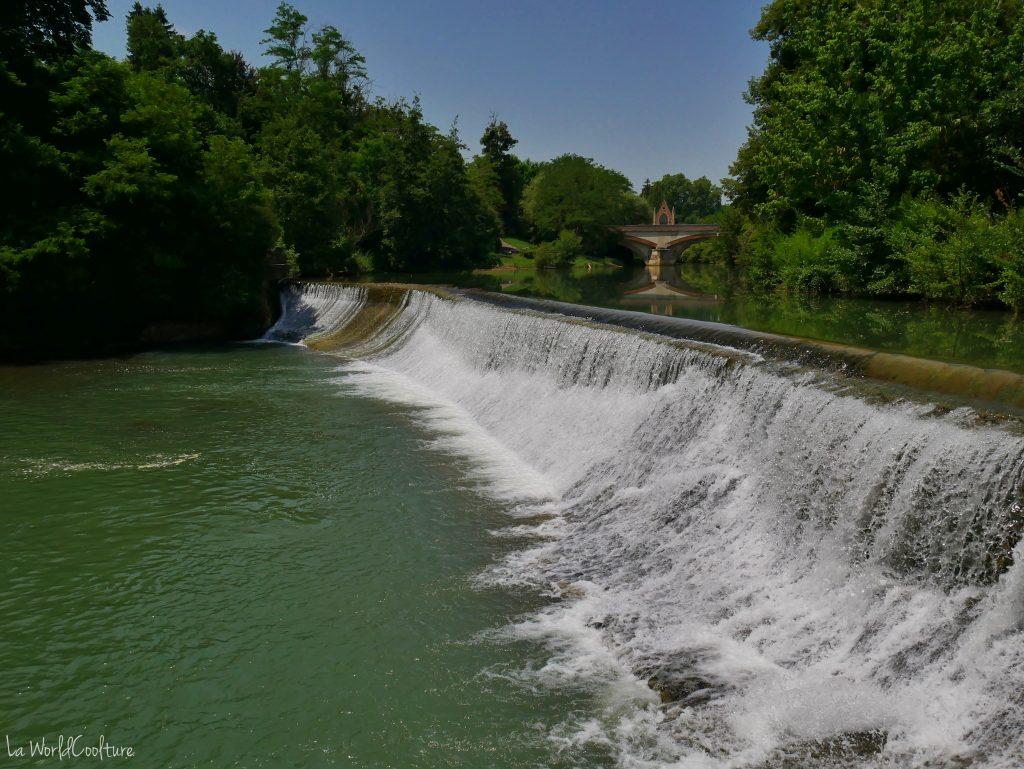 Rieux Volvestre Haute Garonne se baigner dans l'Arize