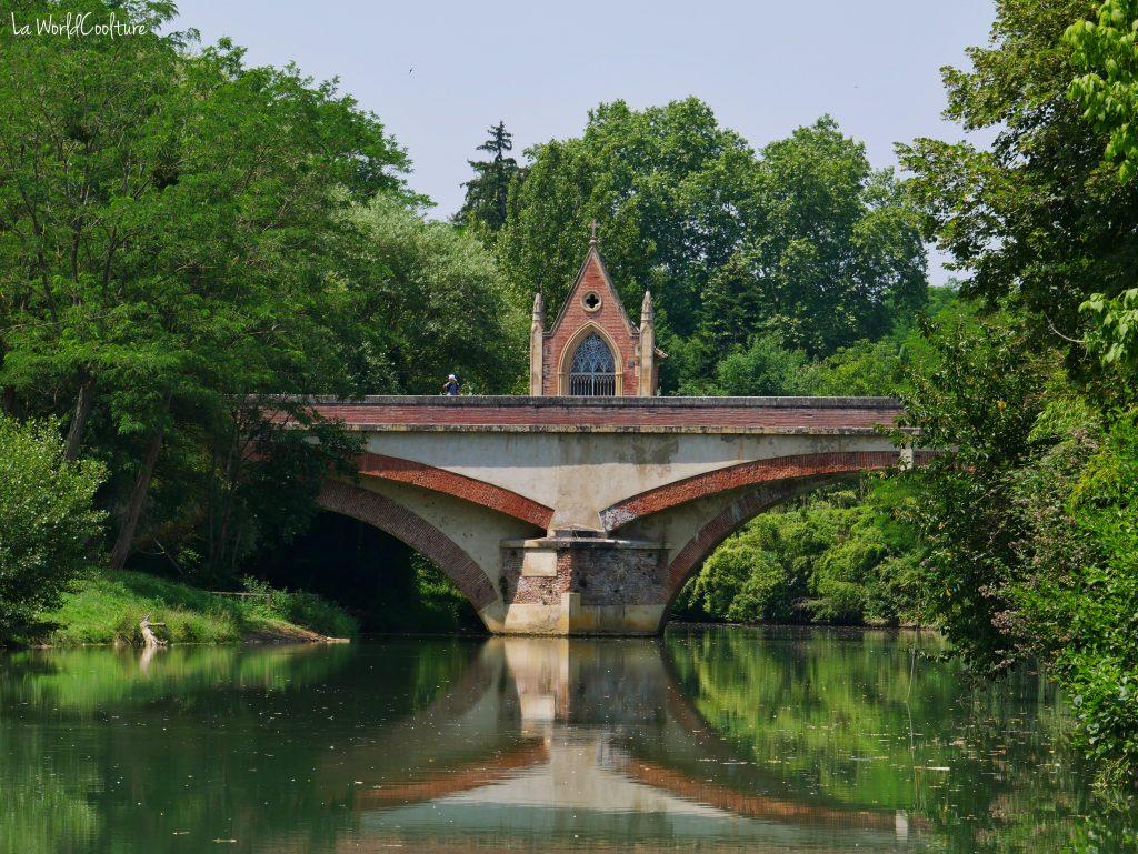 Rieux Volvestre Haute Garonne spot photo pont d'Auriac et chapelle