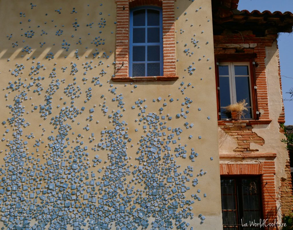 Rieux Volvestre Haute Garonne street-art et architecture