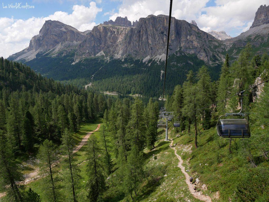 Comment se rendre aux Cinque Torri dans les Dolomites