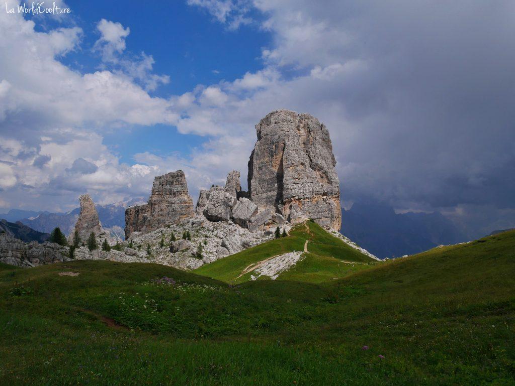 Cinque Torri randonnée à la journée Dolomites