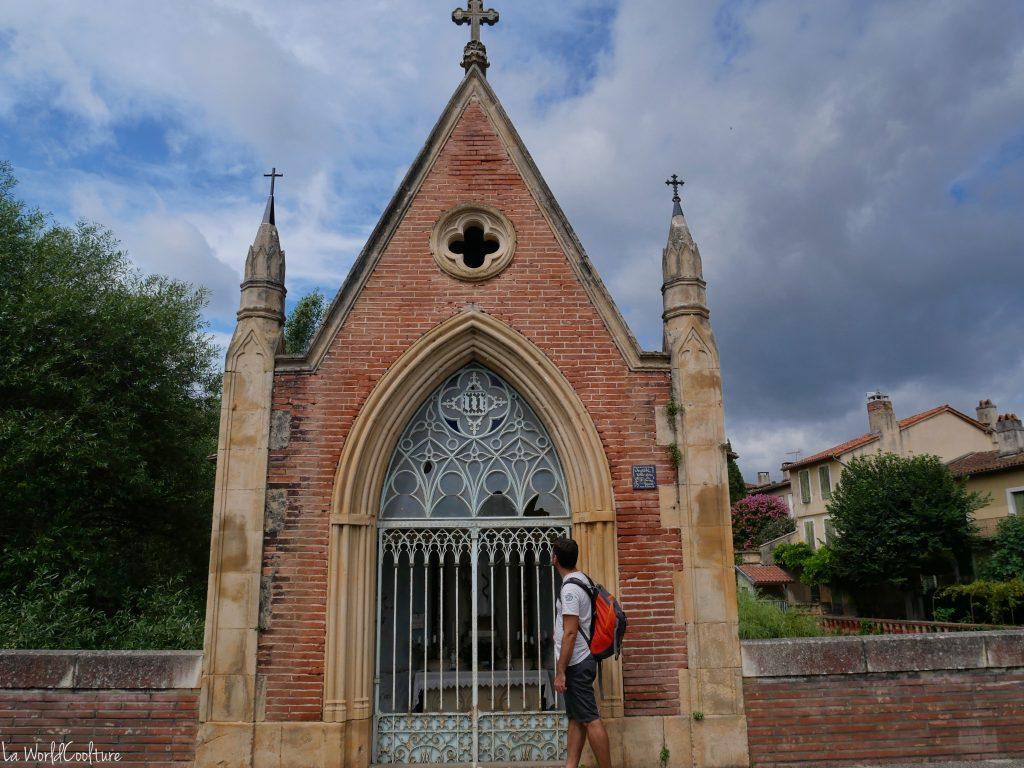 Rieux Volvestre Haute Garonne histoire de la chapelle Notre Dame de Bonne Garde