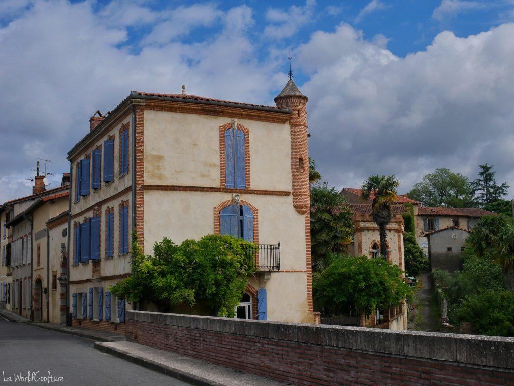 Rieux Volvestre Haute Garonne patrimoine culturel du pont d'Auriac