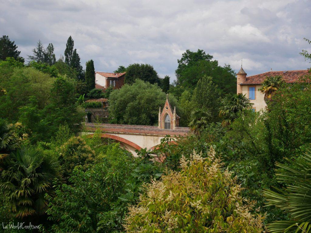 Rieux Volvestre Haute-Garonne Spot photo sur le pont d'Auriac