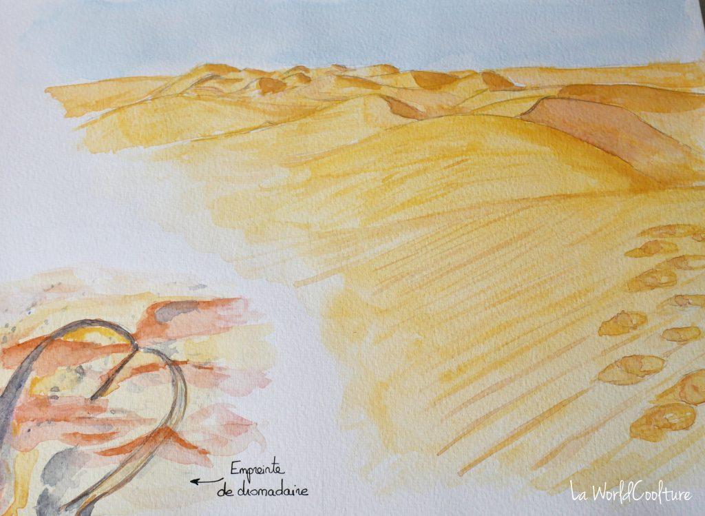 Carnet de voyage à Oman dans le désert