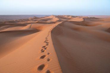 Désert de Wahiba Sands à Oman