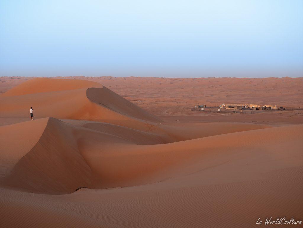 quel campement bédouin choisir dans le désert de Wahiba Sands ?