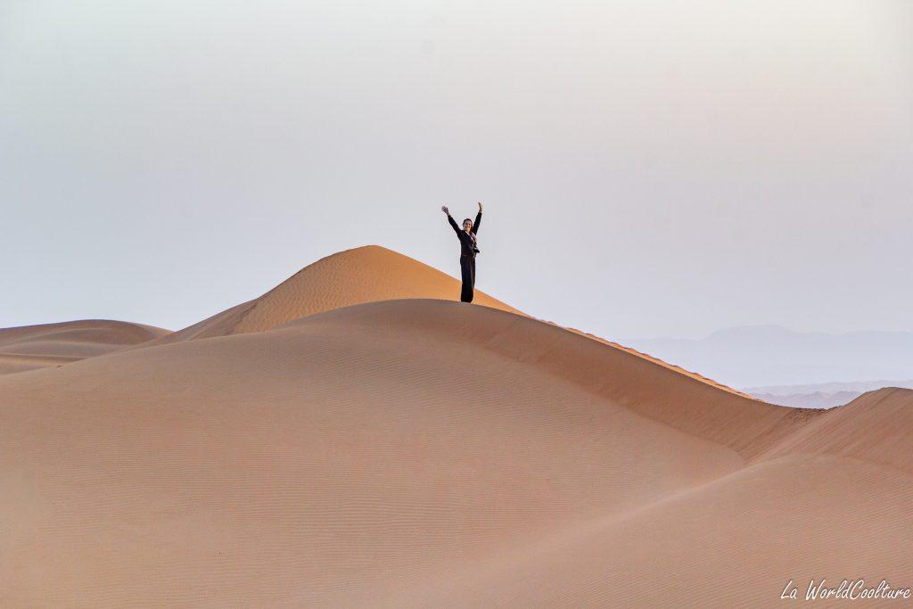 explorer le désert de Wahiba Sands à Oman