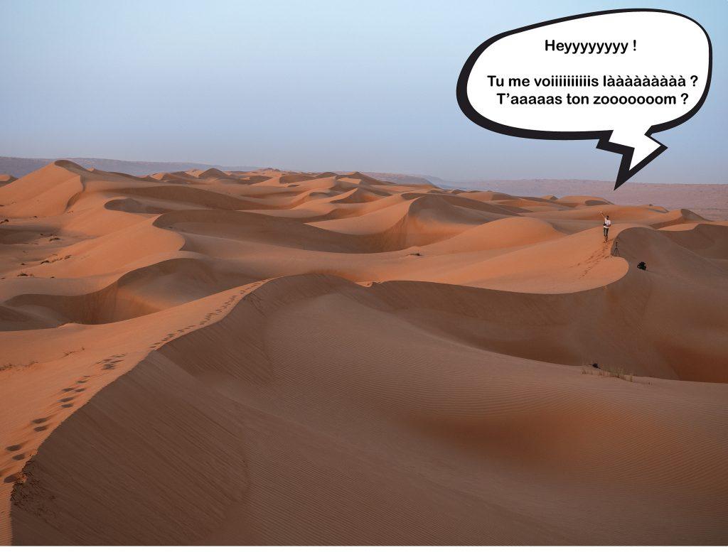 Que faire comme activités dans le désert de Wahiba Sands à Oman ?