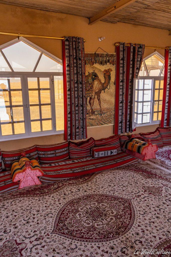 Faire du camping à Oman désert