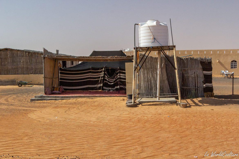 Bedouin desert camp Oman