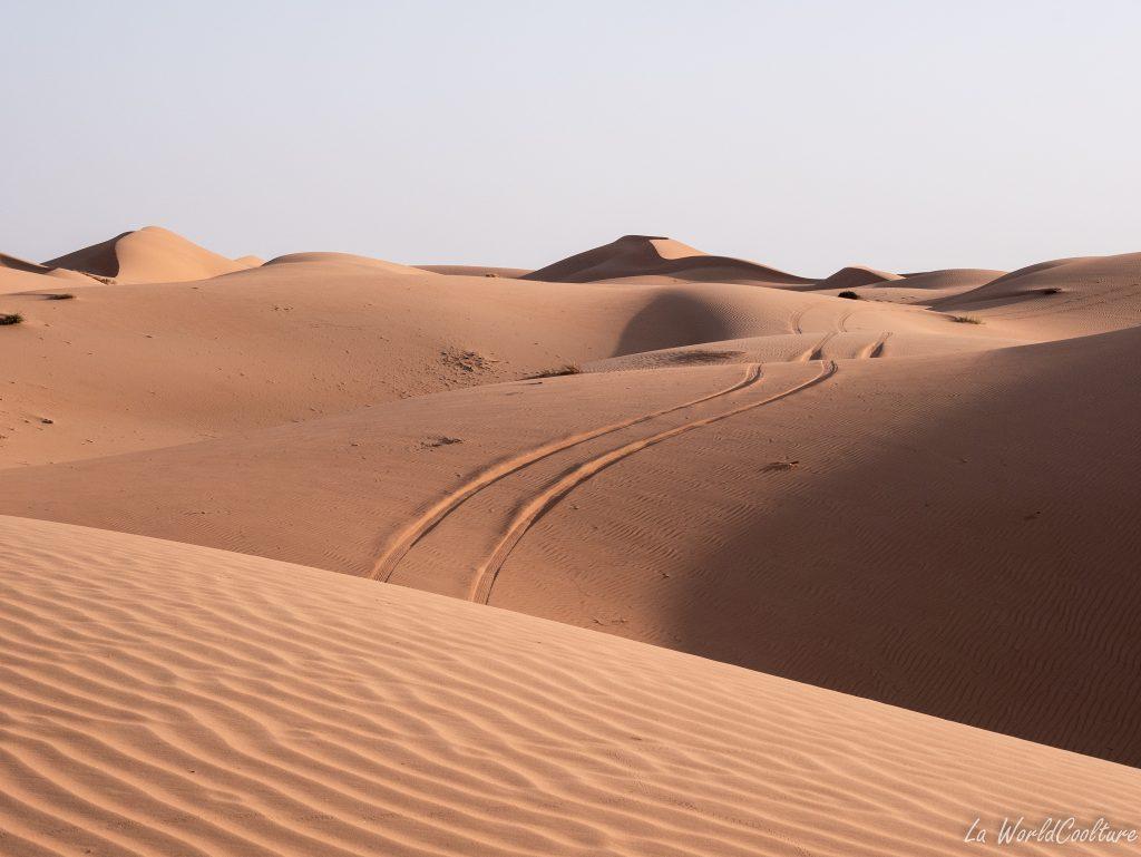 comment traverser le désert de Wahiba Sands en voiture ?