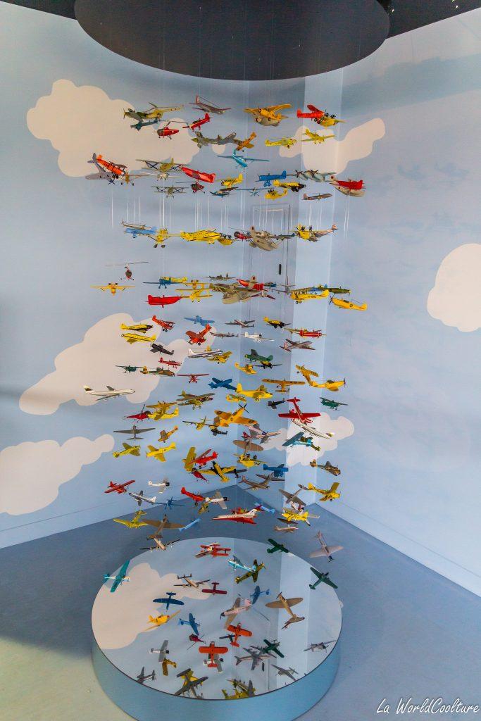 Aeroscopia exposition temporaire Tintin